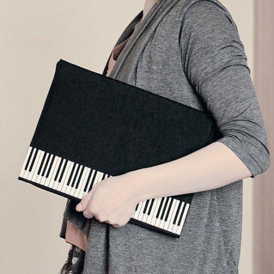 Сумка-пианино, папка для нот, музыкальная папка для бумаг
