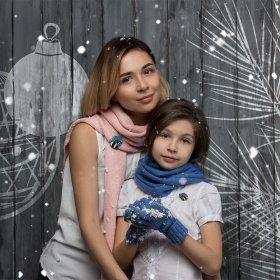Комплект для мамы и дочки Енотики мими
