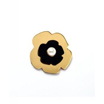 Брошь Gold flower
