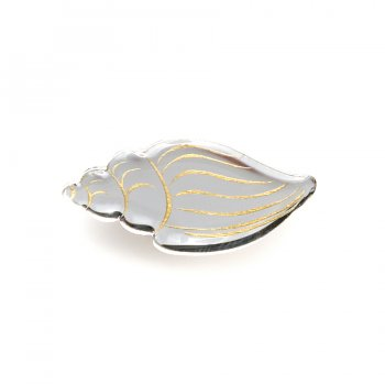 Брошь Volutidae серебро/золото