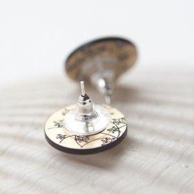 Серьги-гвоздики Compass