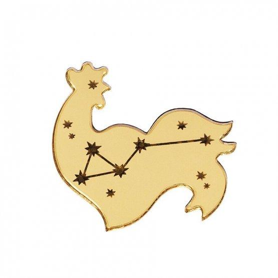 Брошь Cock Constellation