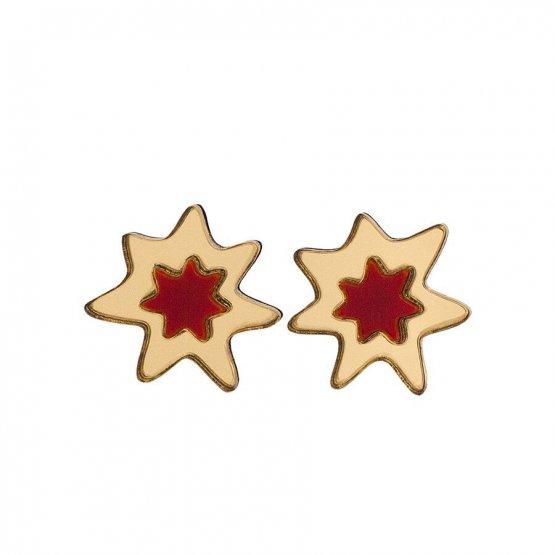 Серьги Golden Stars