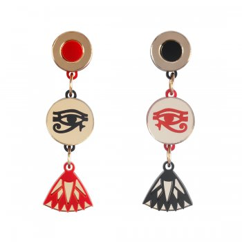 Серьги Egyptian Eye