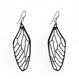 Серьги Крылья стрекозы