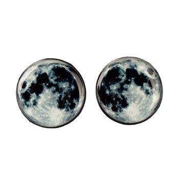 Серьги-гвоздики Moon