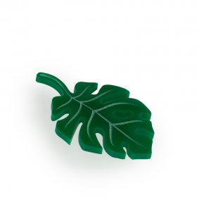 Брошь Tropical leaf