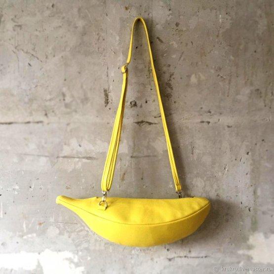 Сумка Банан на молнии