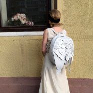 Рюкзак Крылья белые