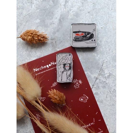 """Комплект брошей из двух """"Осенний джаз"""""""