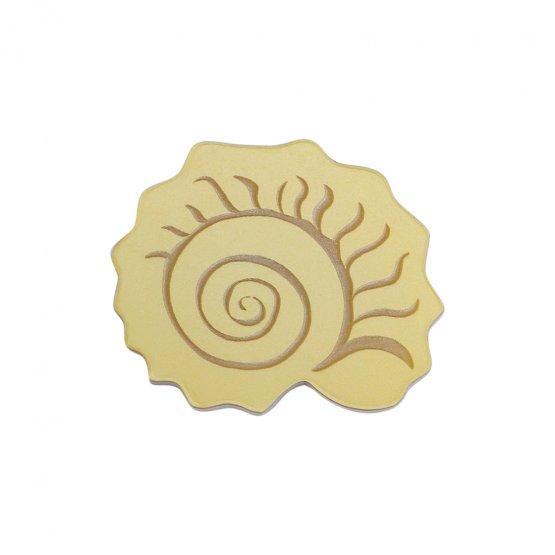 Брошь Nautilidae Gold