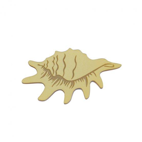 Брошь Strombidae Gold