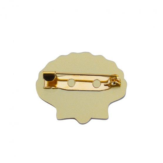 Брошь Pectinidae Gold