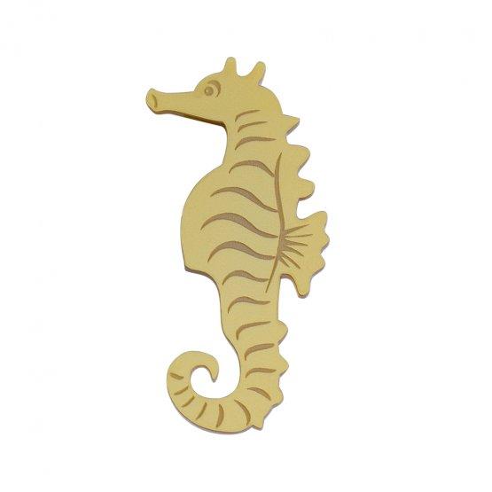 Брошь Hippocampus Gold