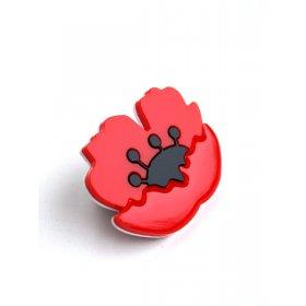 Брошь Poppy Flower
