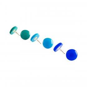 Серьги-гвоздики Color Splash