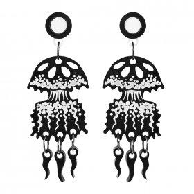 Серьги Graphic Jellyfish