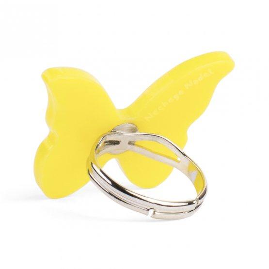 Кольцо бабочка Color Splash