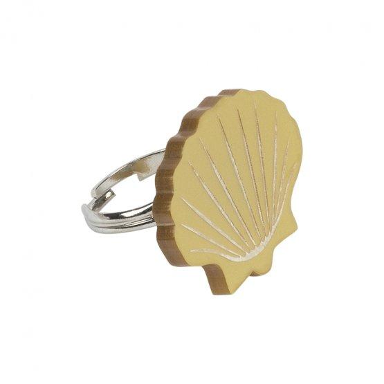 Кольцо Pectinidae Gold