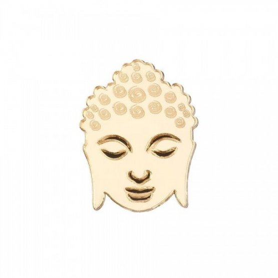 Комплект брошей Будда-сет