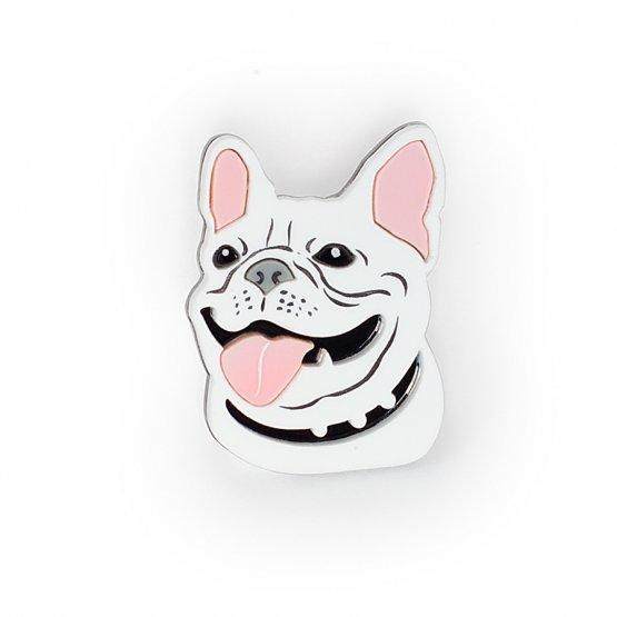 Брошь Dog Smile