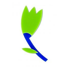 Брошь Тюльпан зеленый