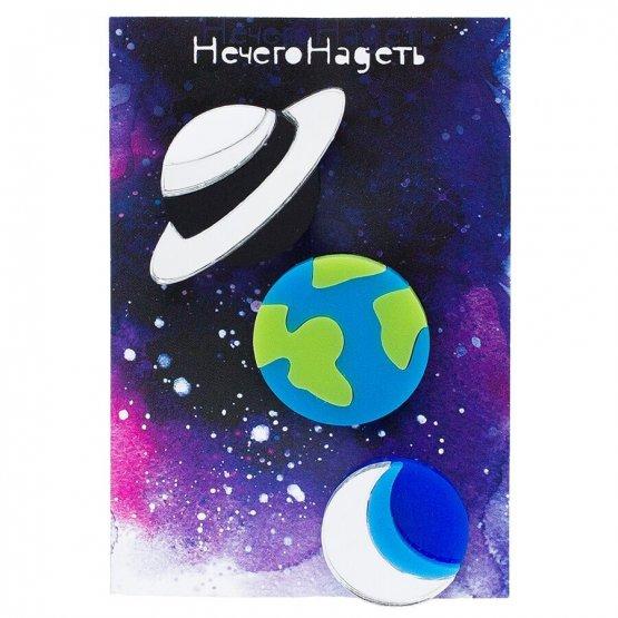 Комплект Planet Earth+ Planet Saturn+Half Moon