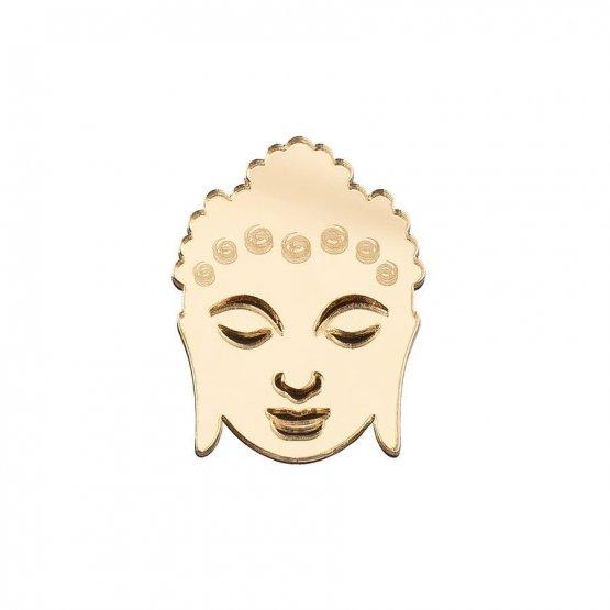 Брошь Будда большая