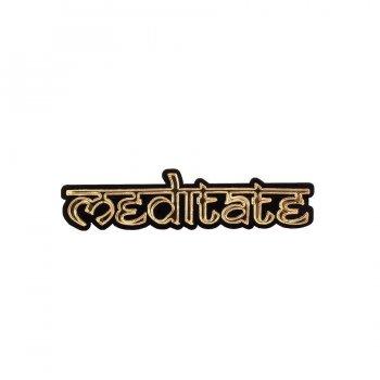 Брошь Meditate