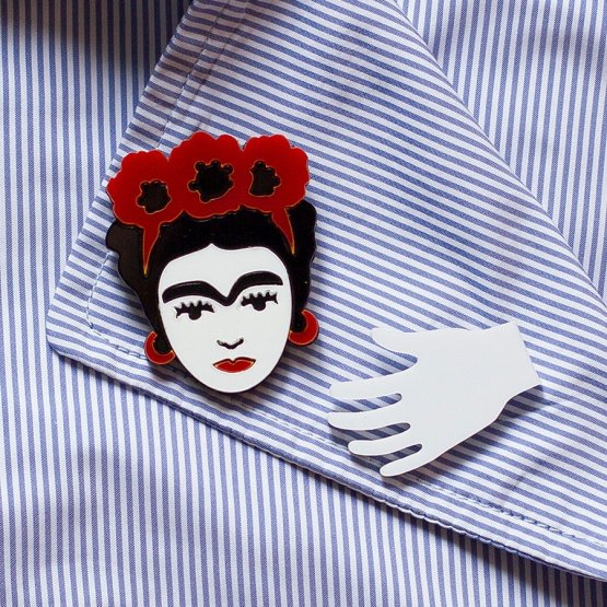 Брошь Frida