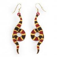 Серьги Aspid snake