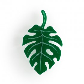 Брошь Tropical leaf