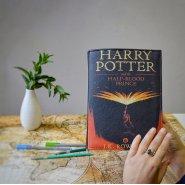 """Сумка-книга """"Гарри Поттер и Принц-полукровка"""" (экокожа)"""