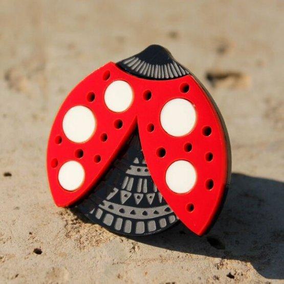 Брошь Lady Bug