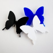 Брошь Бабочка черная
