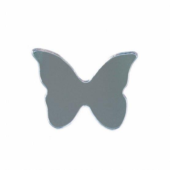 Брошь Бабочка малая (серебро)